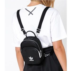 Adidas Originals Faux Leather Backpack